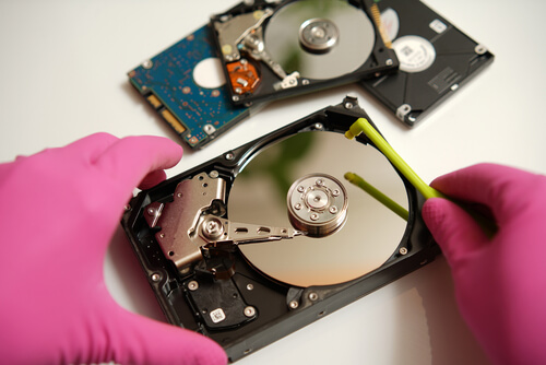 The Legend of the DOD Hard Drive Wipe Standard