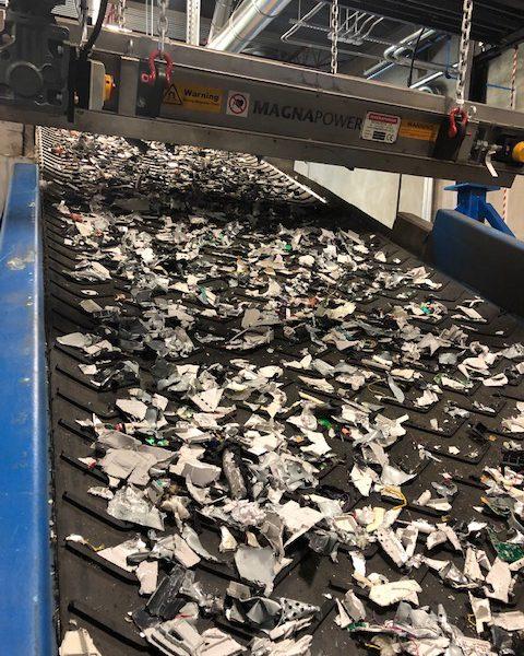 Shredded Aluminum
